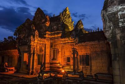 Banteay Samre Temple at Night