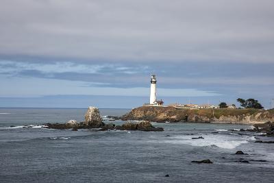 Pigeon Point Lighthouse Along the California Coastline Near San Francisco