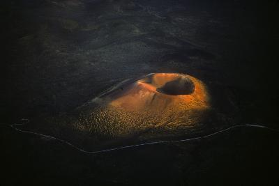Sunset Crater Volcano Cinder Cone in Volcano National Monument, Arizona, North of Flagstaff