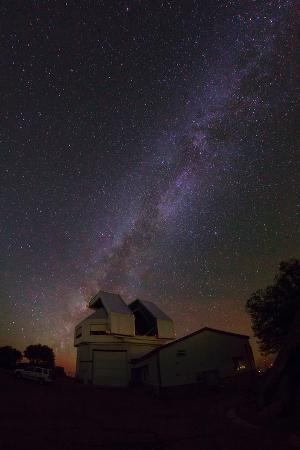 The Milky Way Above Kitt Peak Observatory