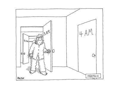 Insomnia - New Yorker Cartoon