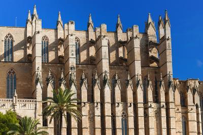 Cathedral of Santa Maria of Palma, Majorca, Balearic Islands, Spain.