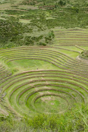 Moray, the Incan agricultural lab