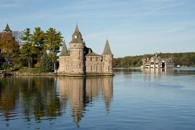 New York, St. Lawrence Seaway, Boldt Castle on Heart Island.