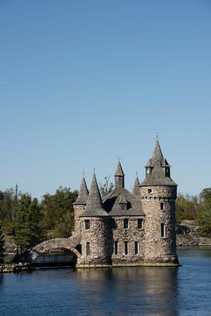 New York, St. Lawrence Seaway. Boldt Castle on Heart Island.