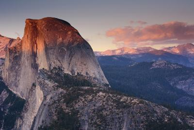 Half Dome at Sunset, Glacier Point, Yosemite NP, California, USA