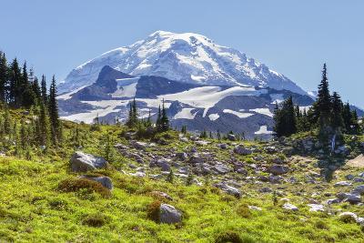 USA, Washington, Mount Rainier NP, Mount Rainier.