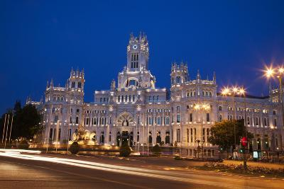 Spain, Madrid. The Palace of Communication.