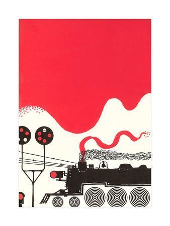 Stylized Locomotive