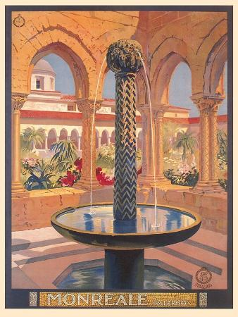 Travel Poster for Monreale