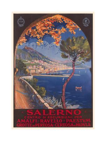 Travel Poster for Salerno
