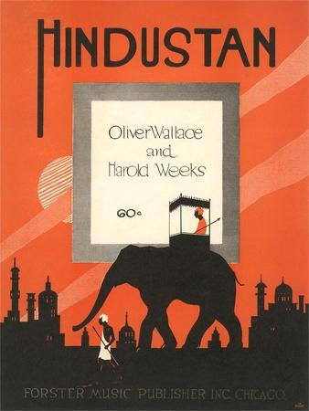 Sheet Music for Hindustan