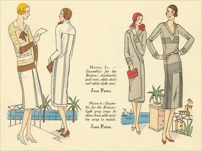 Fashion Illustration, Jean Patou
