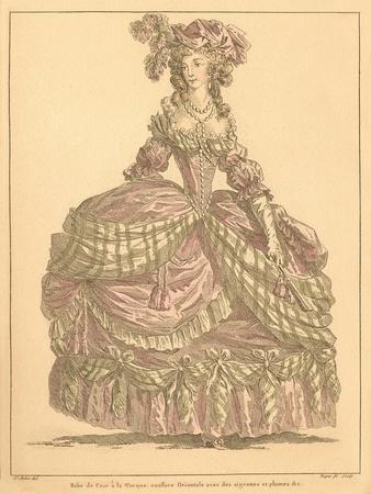 Vintage French Fashion Illustration