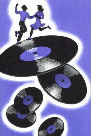 Jitterbuggers and LPs, Purple