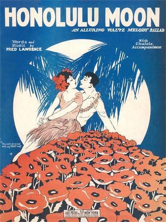 Sheet Music for Honolulu Moon