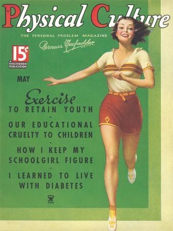 Cover of Physical Culture Magazine