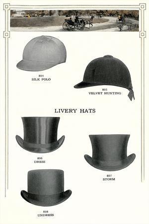 Livery Hats