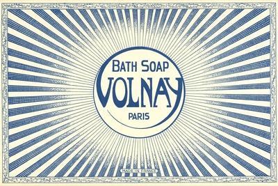 Volnay Soap Label