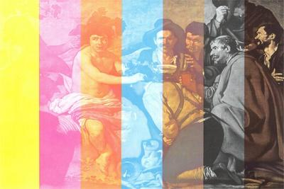 Triumph of Bacchus with Color Stripes
