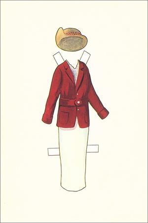 Paper Doll Outfit from 1910s