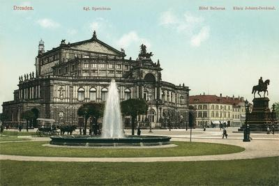 Opera House in Old Dresden, Germany