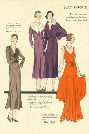 The Vogue, Dresses