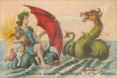 Umbrella Versus Sea Dragon