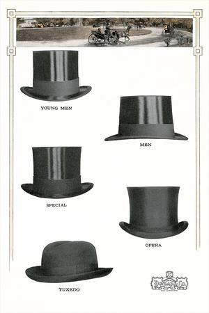 1910s Dunlap and Co. Men's Hats