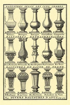Variety of Balustrades
