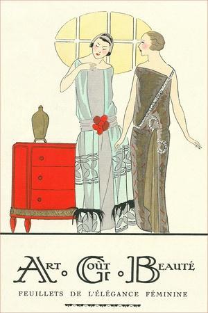 AGB French Fashion Illustration