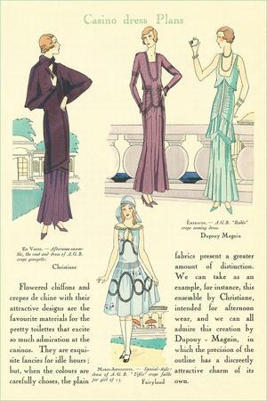 Casino Dress Plans