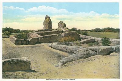 Prehistoric Ruins, Casa Grande, Arizona