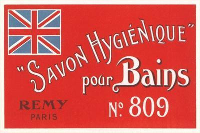 Hygienic Soap Label