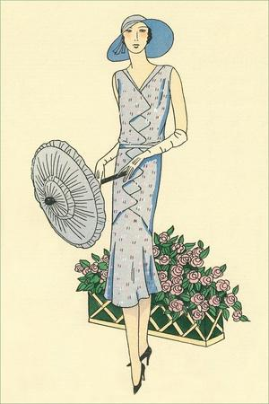 Fashion Illustration, 1930