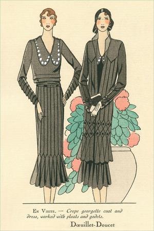 Fashion Illustration, Doeuillet-Doucet