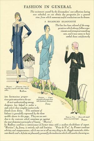 Fashion in General