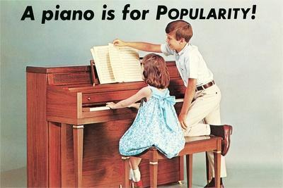 A Piano Is for Popularity