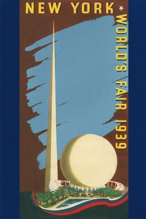 Poster for 1939 NY Worlds Fair
