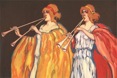 Double Flute Players