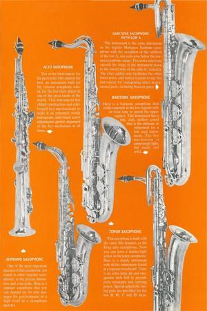 Five Saxophones