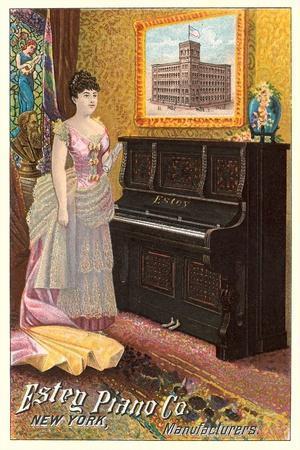 Vintage Piano Ad