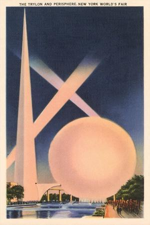 Trylon and Perisphere, Worlds Fair