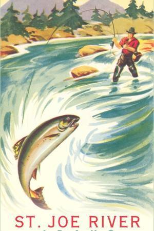 Fishing at St. Joe River
