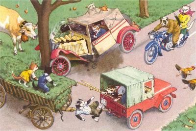 Crazy Cats Crash Car