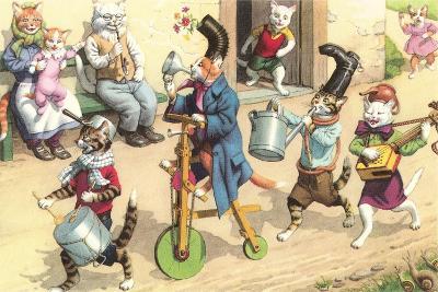 Crazy Cats Fun Parade