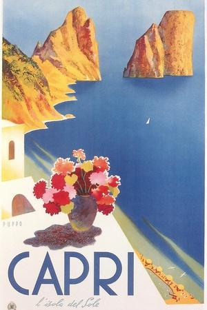 Travel Poster for Capri