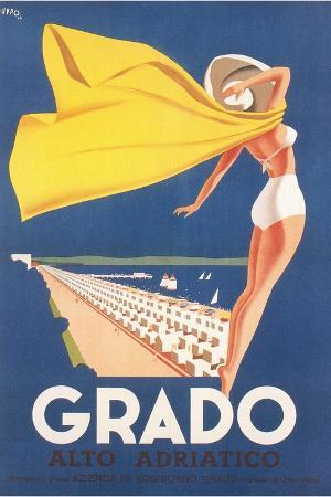 Travel Poster for Grado