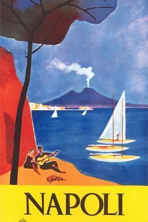Travel Poster for Naples