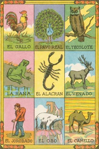 photo about Printable Loteria Cards named Mexican loteria playing cards